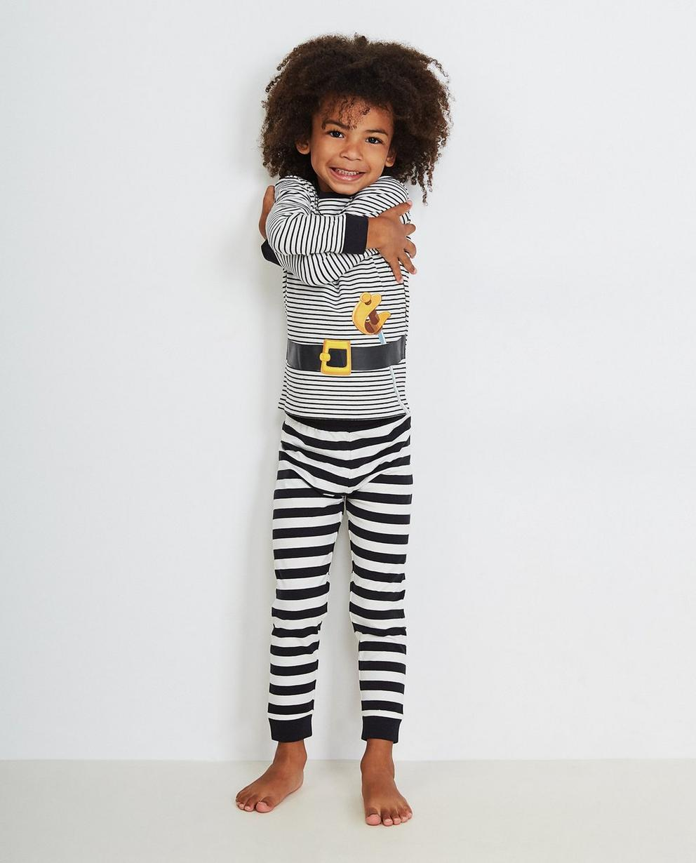 Gestreifter Schlafanzug - Pirat Piet - Piet Piraat